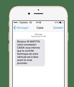 envoyer sms pro