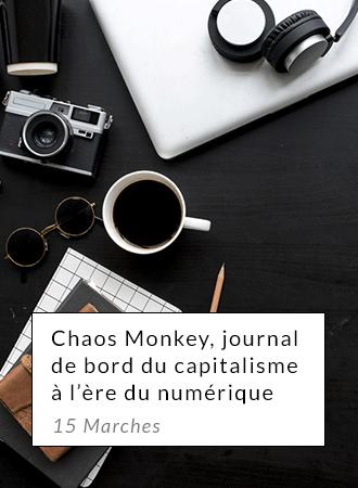 Chaos Monkeys, journal de bord du capitalisme à l'ère numérique - 15 Marches