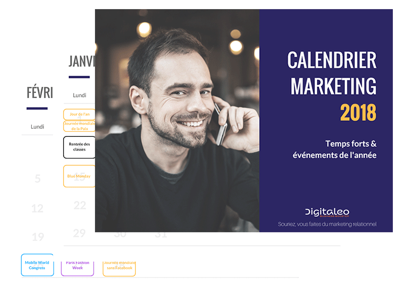 Calendrier marketing 2018
