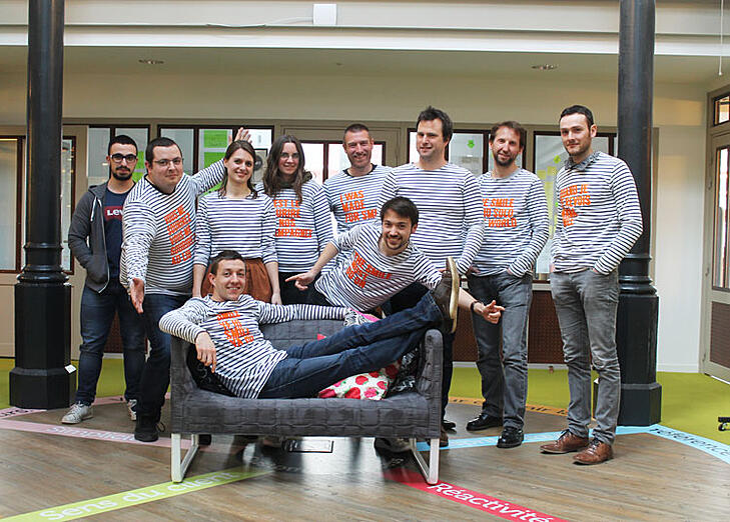 L'équipe R&D de Digitaleo