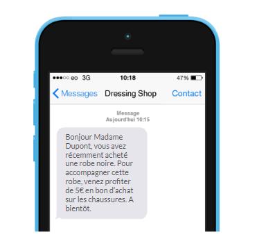 SMS de cross-selling