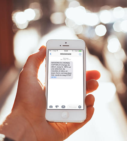 5 exemples communication digitale locale SMS