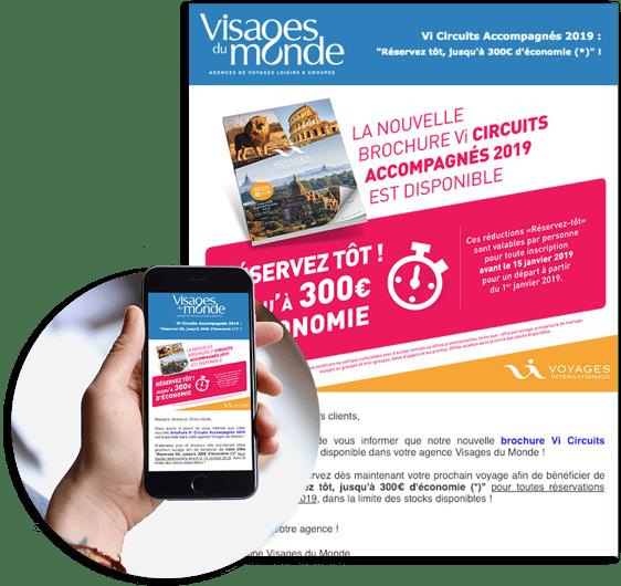 Exemple campagne Visages du Monde