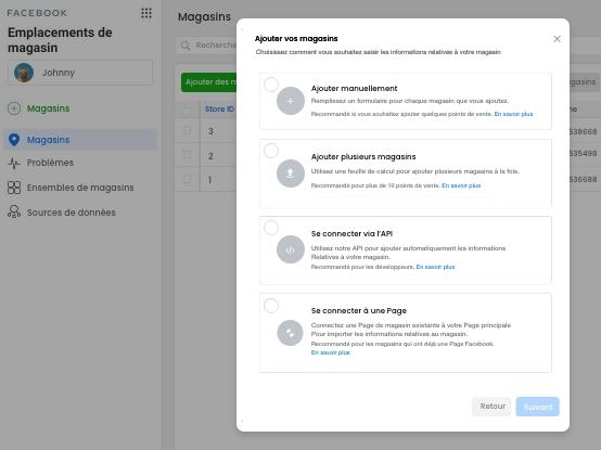 Facebook - comment créer une structure de pages Lieux pour votre enseigne - 6