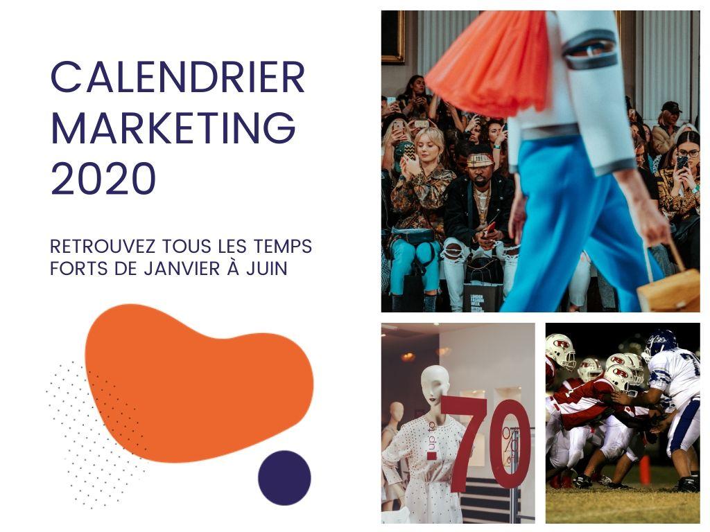 Calendrier marketing 2020 : mieux préparé pour communiquer, tu seras