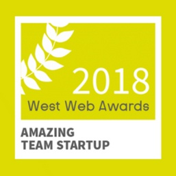 West Web Awards 2018 : notre équipe Customer Success lauréate du prix Amazing Team Startup